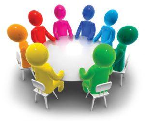 رمزية للإجتماع