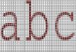 الحروف في c++