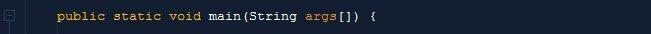 الطريقة الصحيحة لكتابة الدالة main
