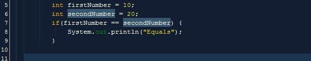 الطريقة الصحيحة للمقارنة بين رقمين