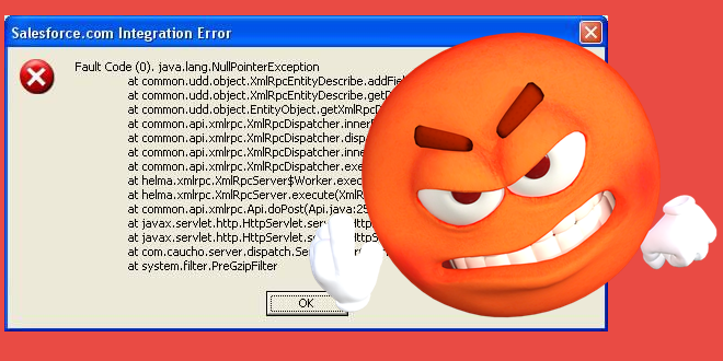 حل مشكلة null pointer exception