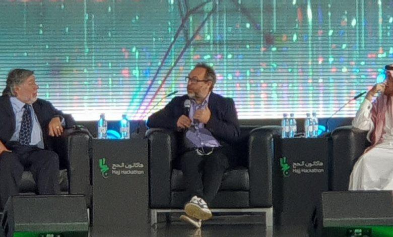 المتحدثين في هاكاثون الحج - بينهم مؤسس ويكيبيديا